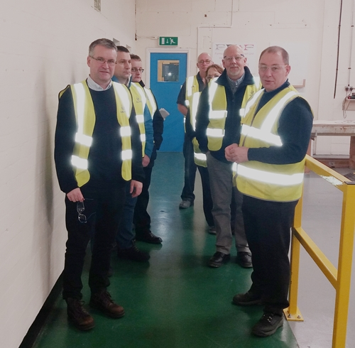 Managing Director, Graham Mercer, leads Rearo's visit