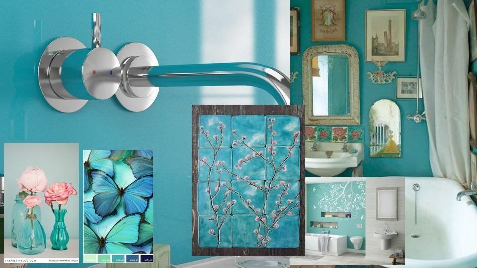 Blue Turquoise WBP Plywood Shower Panel (2420mm x 1200mm x 11mm)