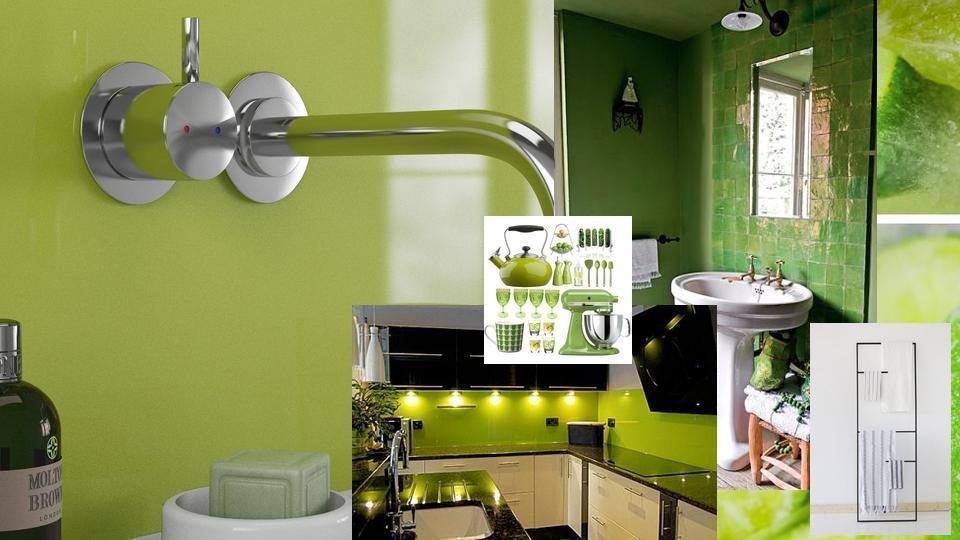 Lime Zest MR MDF Shower Panel (2420mm x 1200mm x 11mm)
