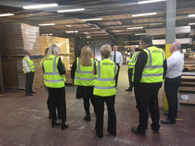 Fulfilment Centre tour hosted by Kevin Nicoll