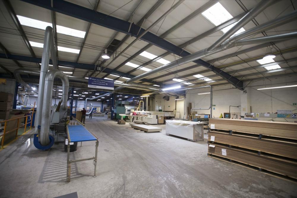 Rearo's Govan based manufacturing premises